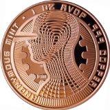 The Guardian Bitcoin 1 Oz.999 Copper Commemorative Coin