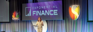 Financial Blockchain Applications will certainly be Measured in the Trillions, says Blythe Masters at Exponential Finance 2015