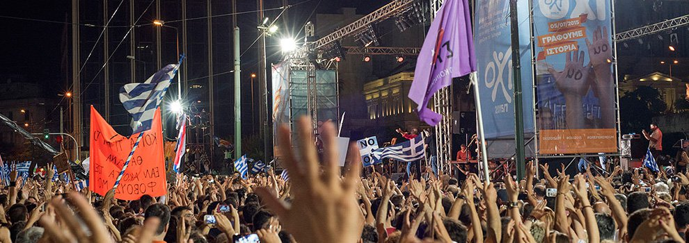 The Greeks Vote NO, Setting Stage for Possible Parallel Currency and Eurozone Exit