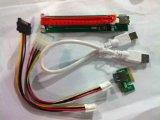 Vantacor Pci-e 1x to 16x USB 3.0 Riser with Bonus offer Sata and Molex Power – 60cm(2ft).